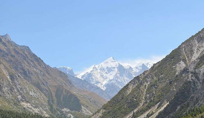 Bhagirathi mountain ranges