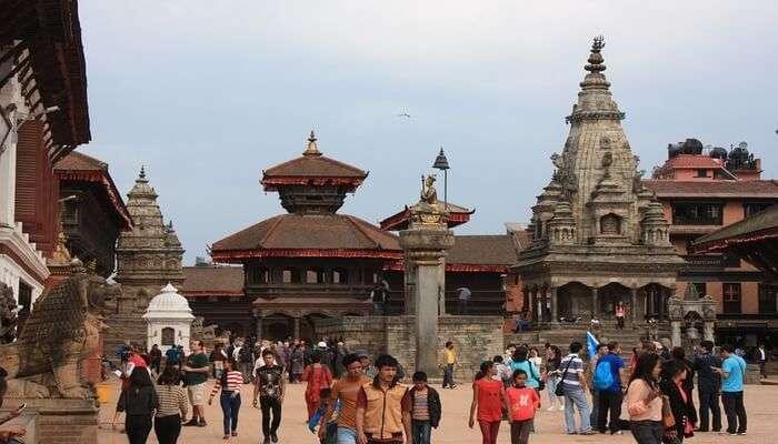 bhkatapur temple view