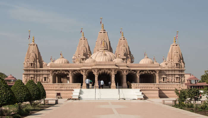 View of temple in bhavnagar