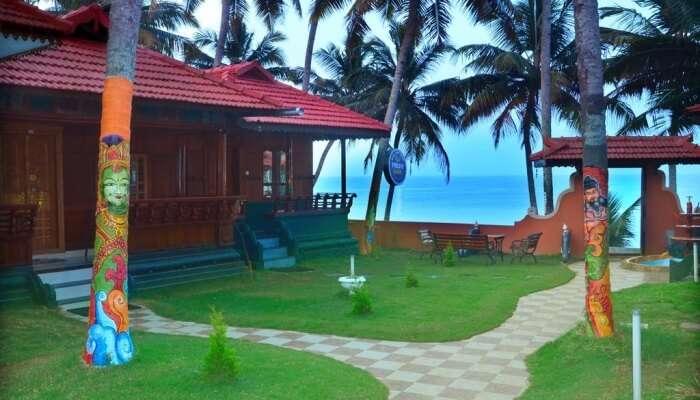 Black Beach Resort in varkala