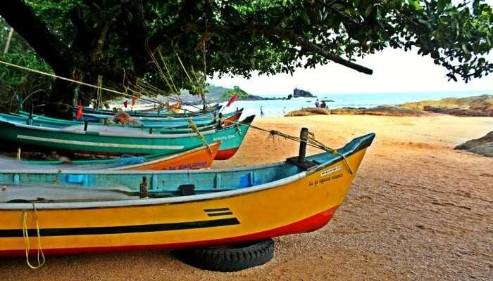 India Beach Boat Gokarna
