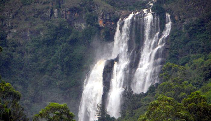 Bomburu Ella Falls, Sri Lanka