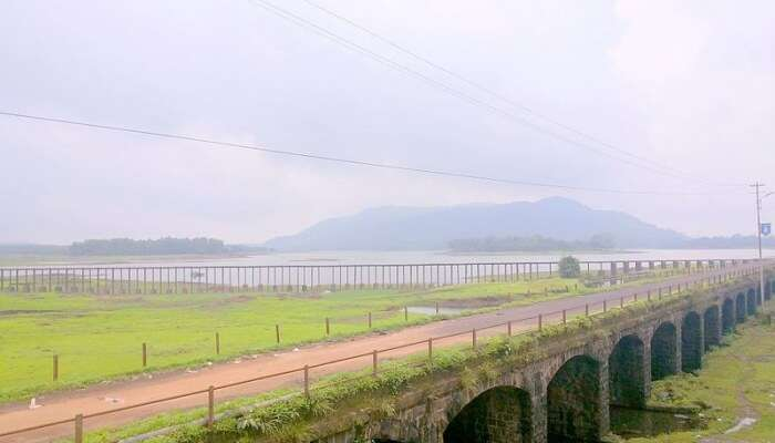 Bridge at the Lonavala Lake