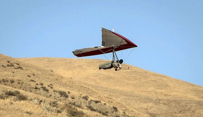 the top hang-gliding school in South Africa