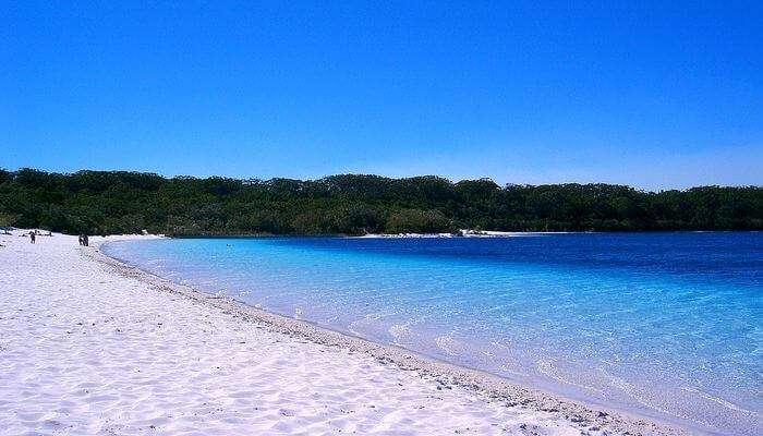 Camping At Fraser Island