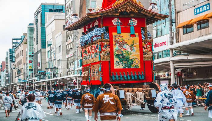 Celebrate The Gion Matsuri