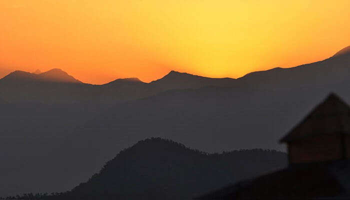 offers a spectacular view of Nanda Devi