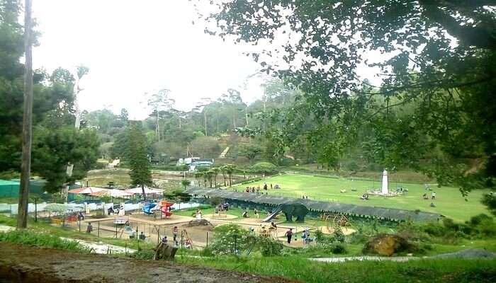 Chettiar Park In Kodaikanal