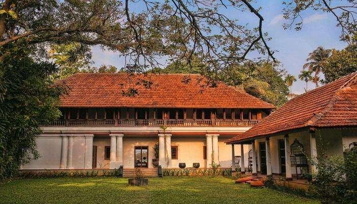 a luxurious resort in Kochi