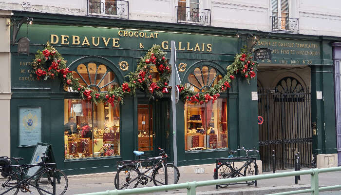 Chocolate Debauve And Gallais, Paris