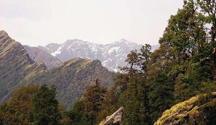 mesmerizing views of Himalayas