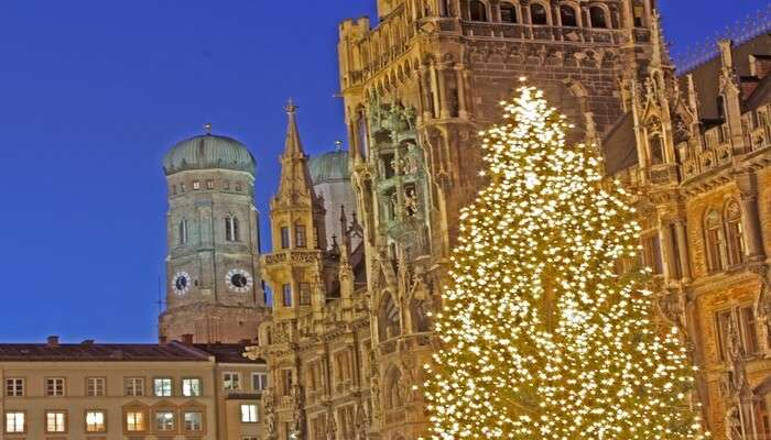Christmas Celebrations At Munich