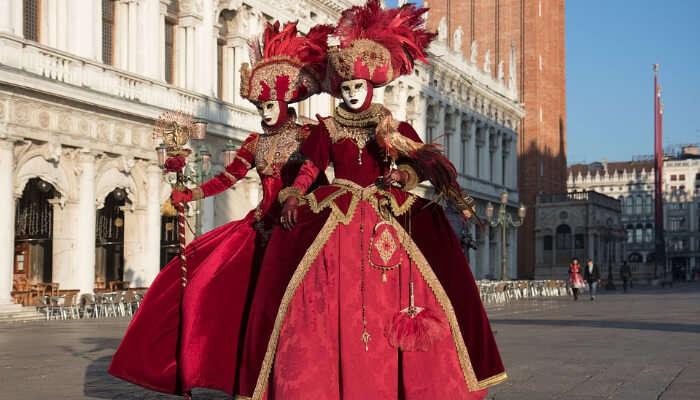 Costume Parade in Venice