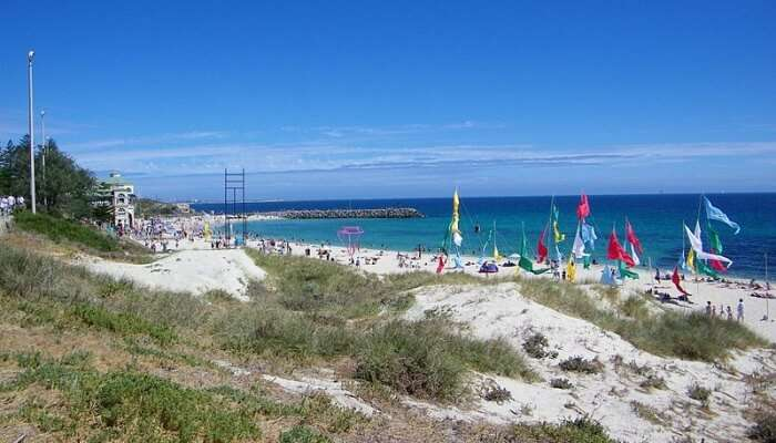 beach person in order to have a good time at Cottesloe