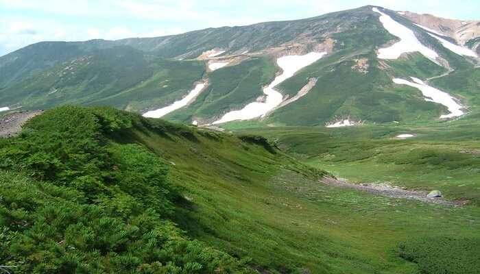 Daisetsuzan National Park in Hokkaido