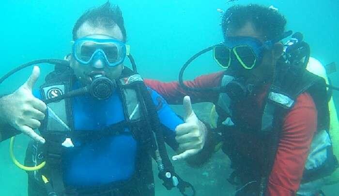 experience scuba divingin andaman