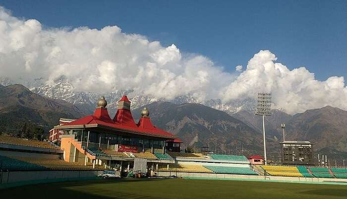 beautiful cricket stadium