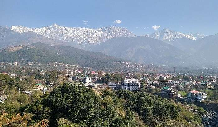 pleasant view of Dharamshala