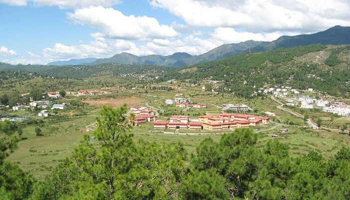 Dwarahat Aerial View