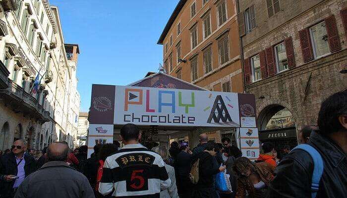 Eurochocolate Festival, Perugia