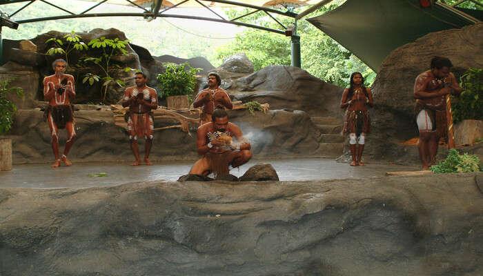 Experience Aboriginal Culture At Tjapukai Aboriginal Cultural Park