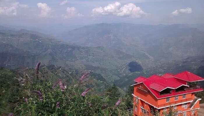 Scenic valley view, Kufri