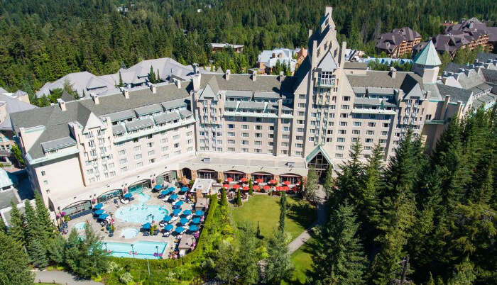 Fairmont Chateau Whistler Resort in British Columbia