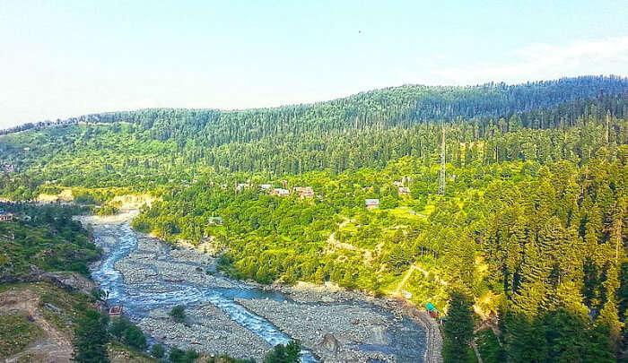 Ferozepur Nallah in Gulmarg