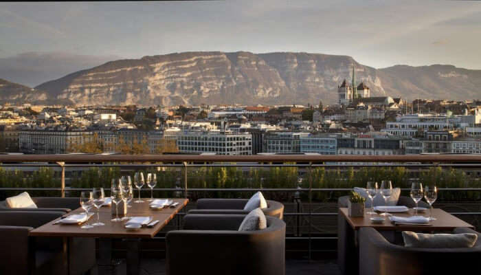 Four Seasons Hotel in Geneva