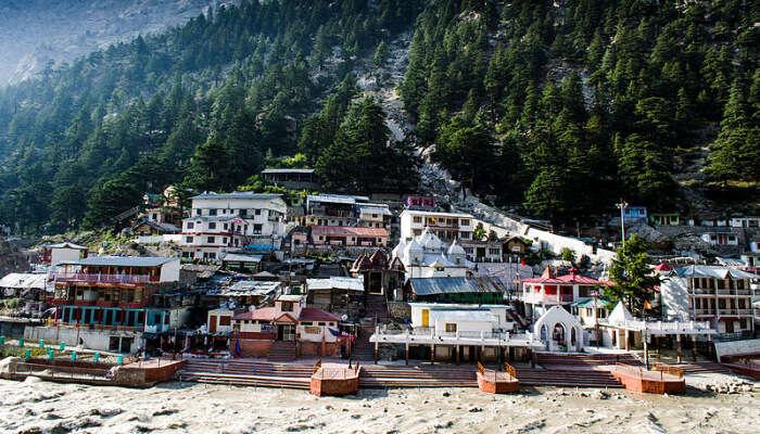The town of Gangotri