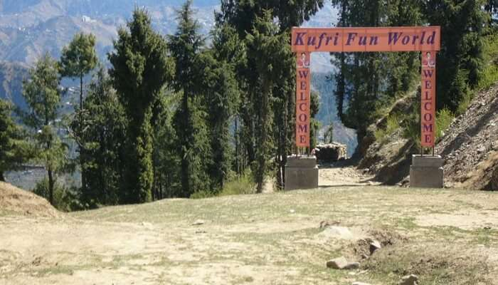 Fun World at kufri, Himachal