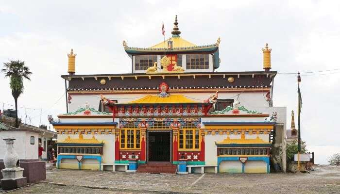 Yoga Choeling Monastery and is one among the most popular tourist places