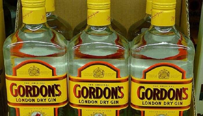 Gin From London Souvenir