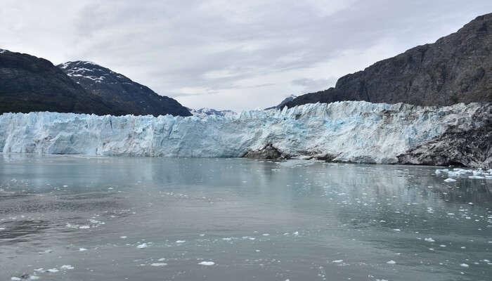 Glacier Bay, Alaska in USA