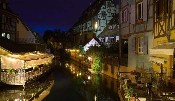 a picturesque old town Of France