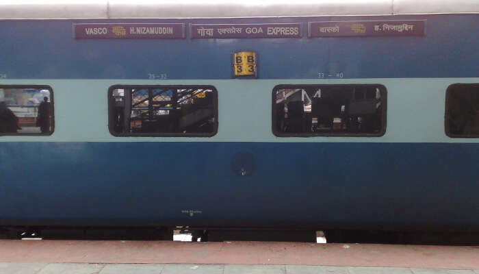 Goa Express is a superfast train