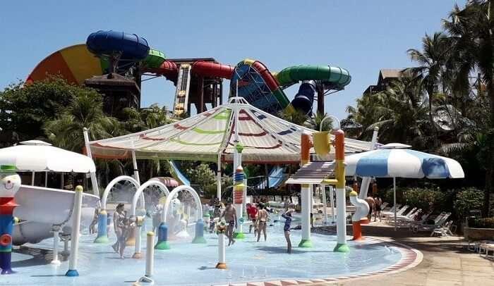Amusement park in vancouver