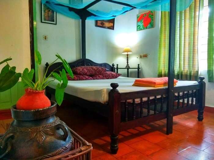 A cute guest house in Cochin