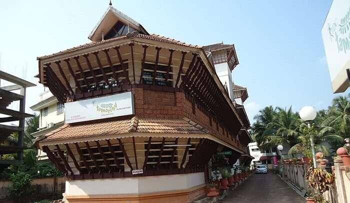 divine Krishna temple
