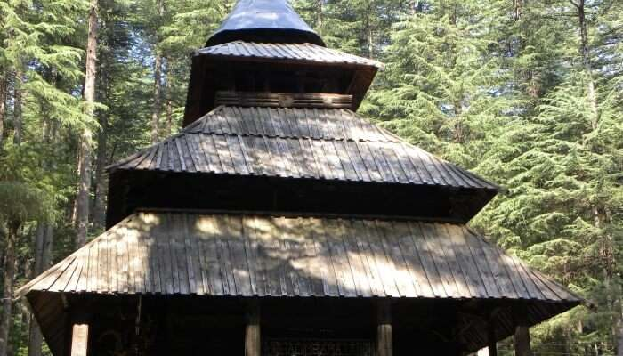 Hadimba Temple is famous temple in manali