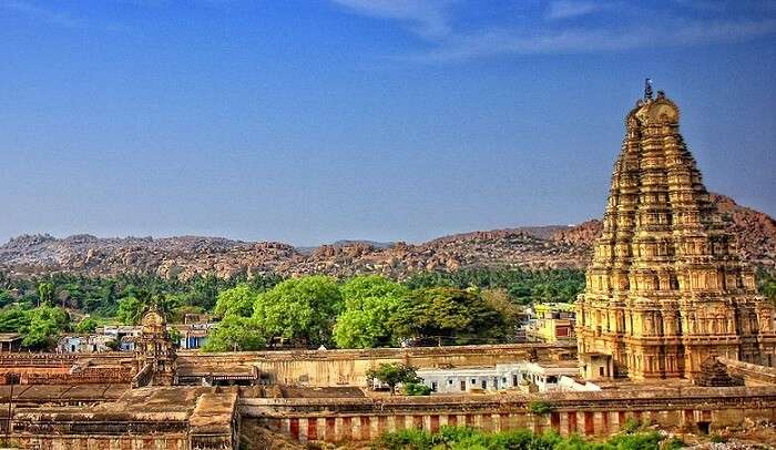 Hampi is a World Heritage Site