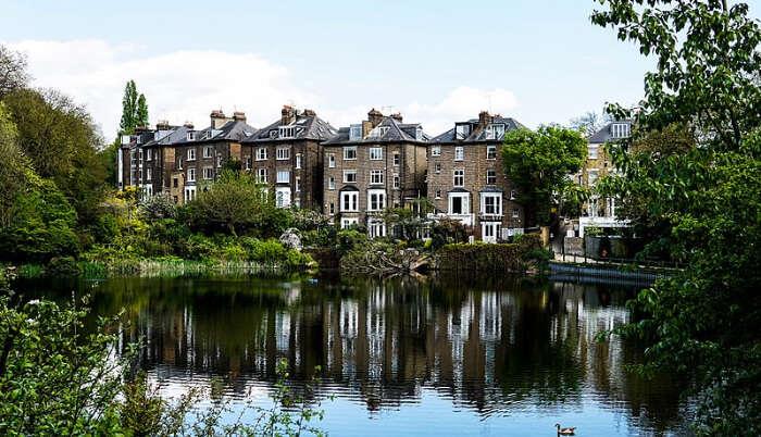 Hampstead Heath in London