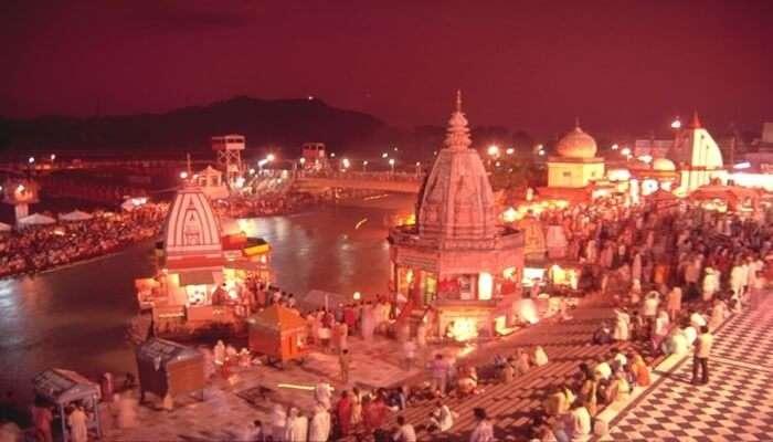 Har Ki Pauri Ganga Temple