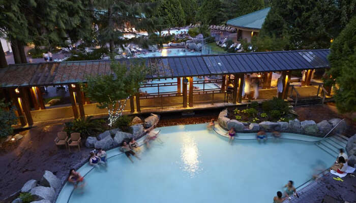 Hot Springs Resort in British Columbia