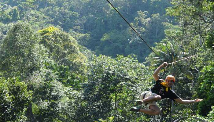 Highlights Of Flying Hanuman In Phuket