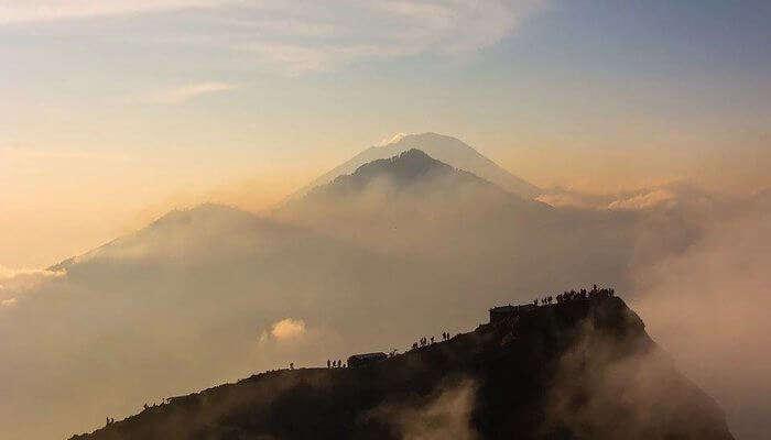 Hike On Mount Batur