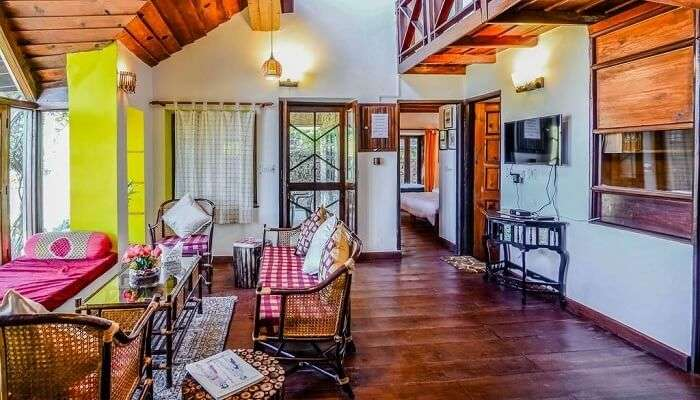 One of the lavish cottages in Ranikhet