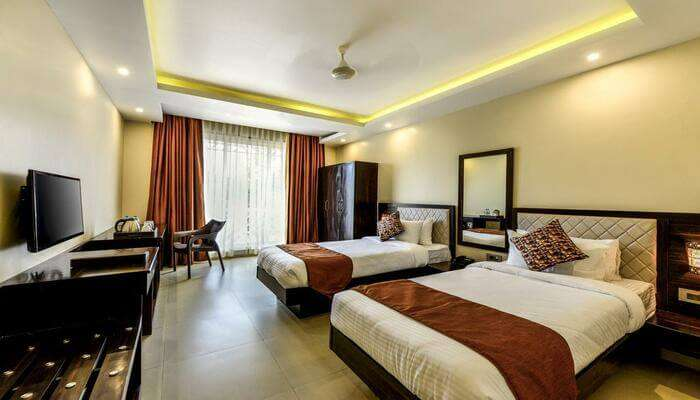 hotel offers safety, comfort