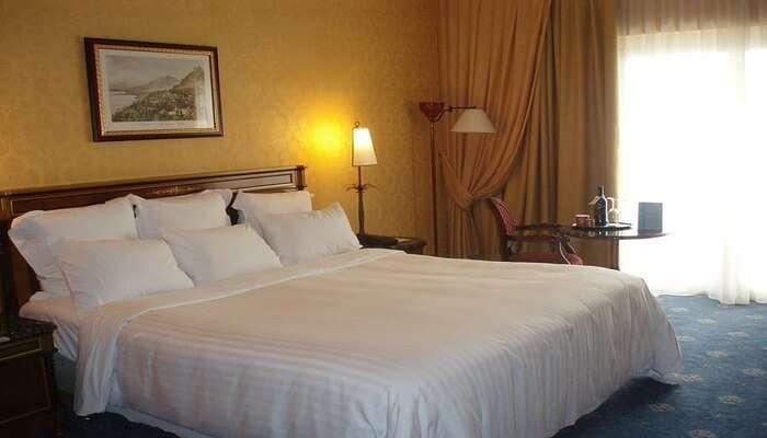 Hotel Wooden Umbrella