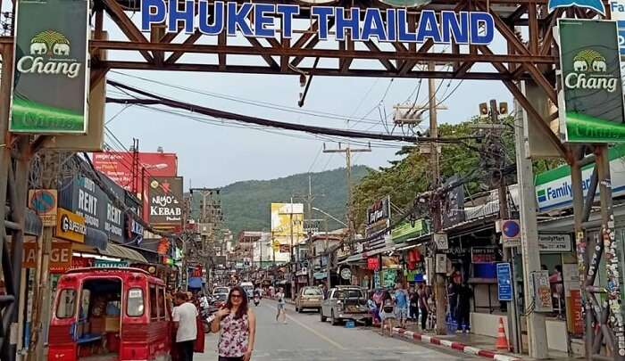 going to explore the patong beach